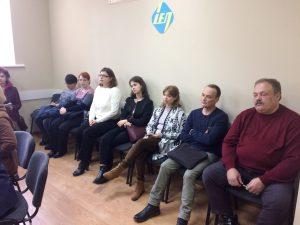 19 грудня 2019р. відбулося засідання вченої ради інституту