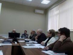 24 грудня 2019 р. відбулося засідання вченої ради інституту
