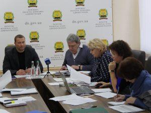 Засідання регіональної комісії з проведення оцінки та попереднього конкурсного відбору інвестиційних програм і проектів